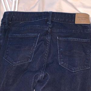 Abercrombie & Fitch Jeans - abercrombie dark wash super skinny jeans